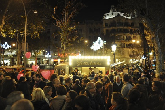 Shopping night Barcelona 2012