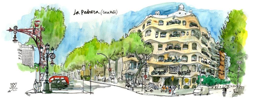 La Pedrera - Urban Sketchers