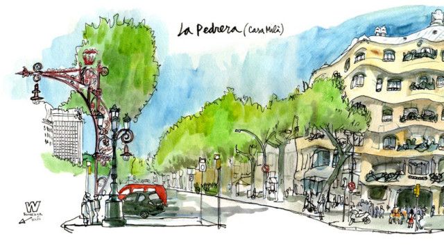 La Pedrera - Urban Sketchers
