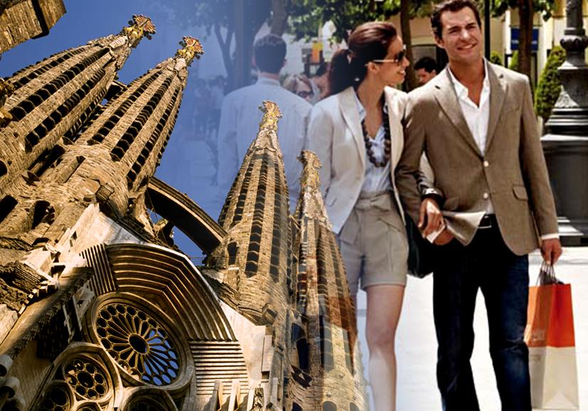 Gaudi and Shopping Tour