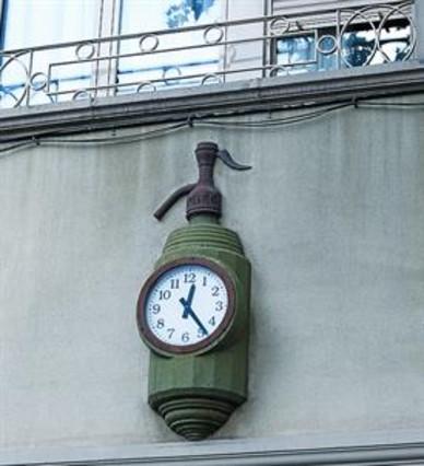 Rellotge sifón - Avd de Roma, 105