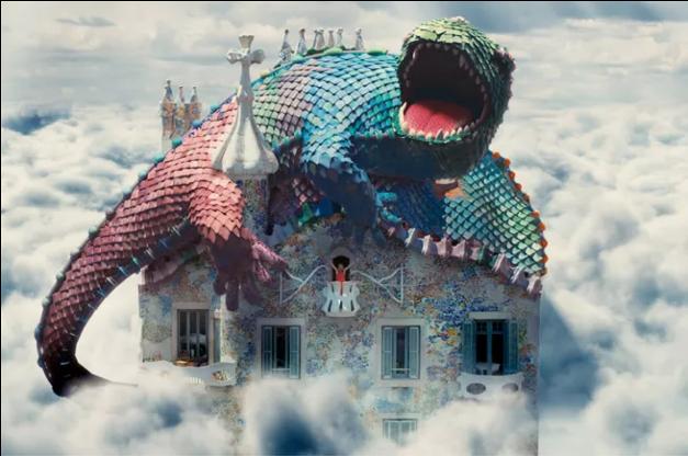 Gaudi - drac batllo