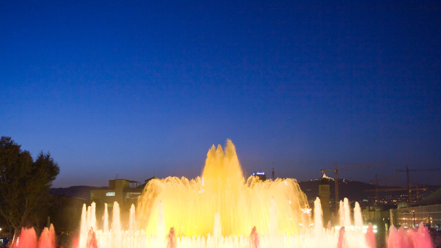 Magical Fountains Montjuic