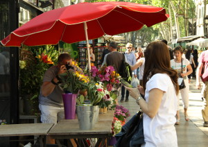 Barcelona in one day 2 - Las Ramblas