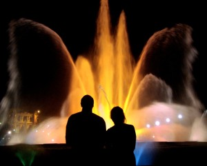 Barcelona in one day step 5 - Magic Fountain Montjuic