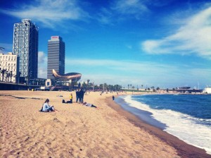 Ba Barceloneta beach