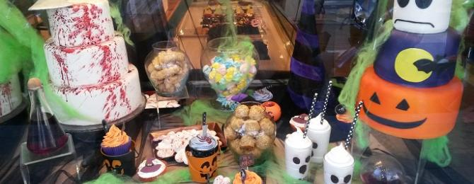 Halloween cakes and panellets