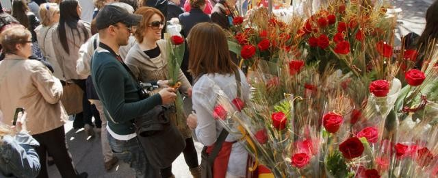 Sant Jordi's Day: A romantic day to give a red rose to our loved ones