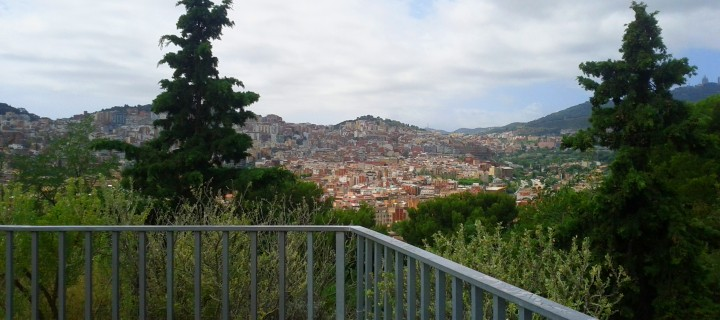 360º views of Barcelona from the top of the Turo de la Peira Park