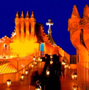 The Dragon Terrace at Casa Batlló