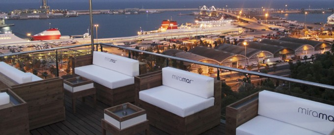 The city at your feet from the Miramar Hotel Terrace what to do in summer