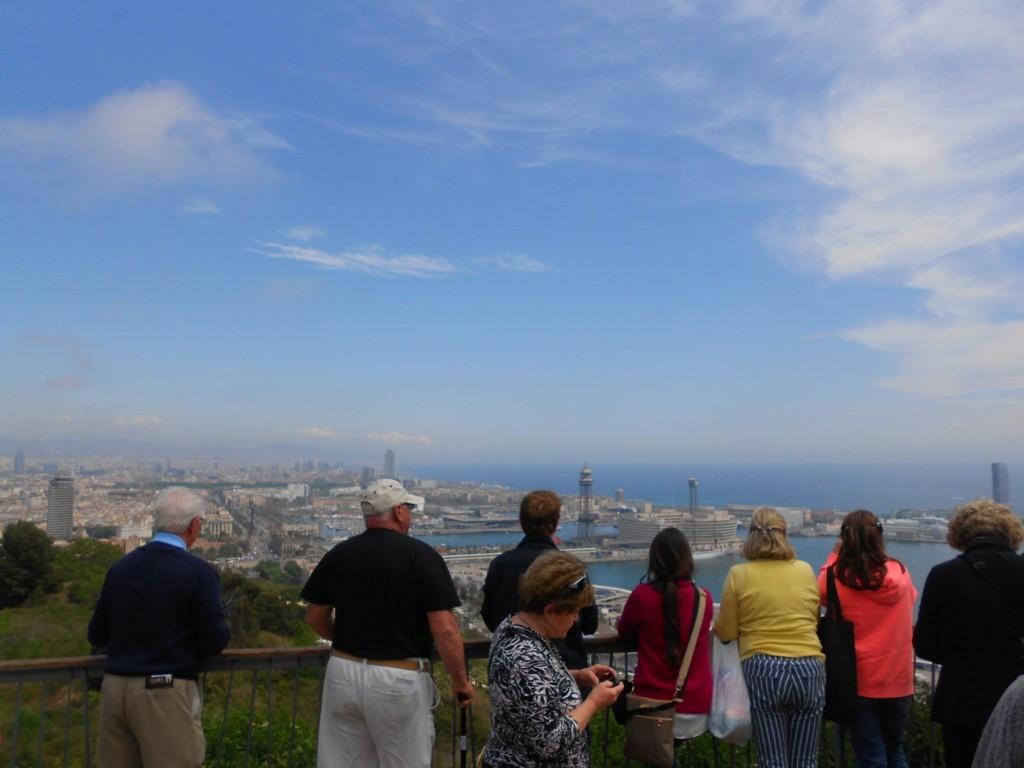 Mirador de l'Alcalde Lookout in Montjuic