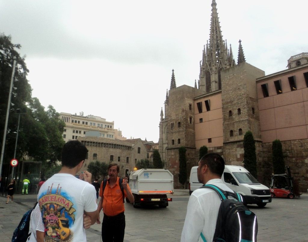 Picasso Gothic Quarter Walking Tour - Catedral