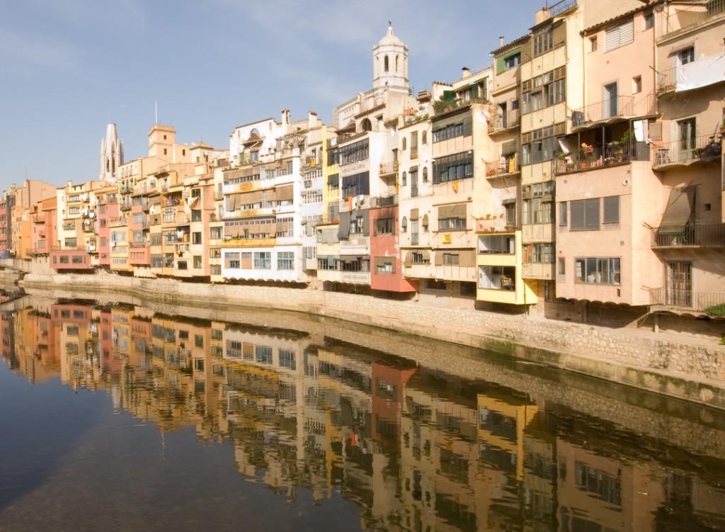 Barcelona Guide Bureau - Daily Sightseeing Tours - Dali Museum + Girona 1 - Onyar River in Girona