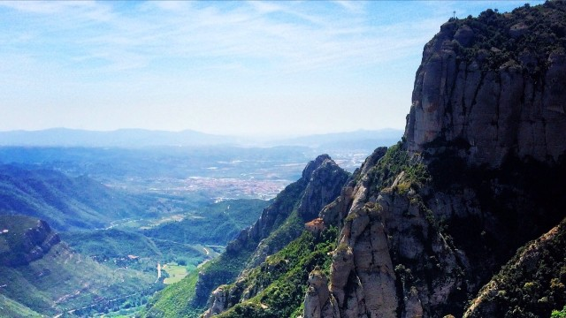 "Montserrat in English means ""Serrated Mountain"""