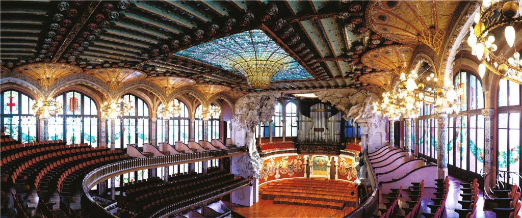 Palau Musica concert hall - live music in barcelona