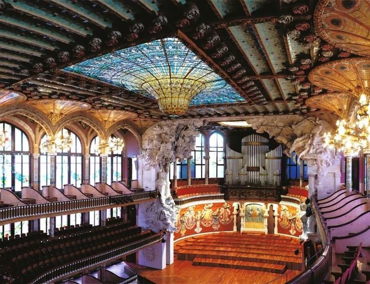 Palau Musica - concert hall