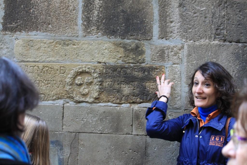 Barcelona Guide Bureau Walking Tours for al Marato - Mariona