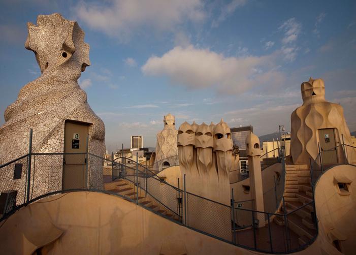 La-pedrera-gaudi-monuments-barcelona
