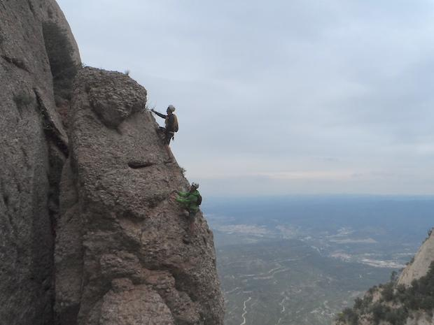 Montserrat is one of the best climbing spots in Catalonia