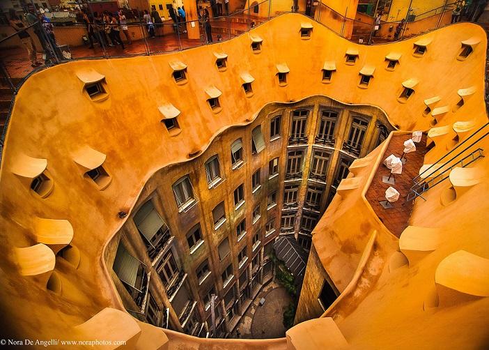 La Pedrera-gaudi-monuments-barcelona