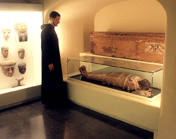 the museum has a mummy