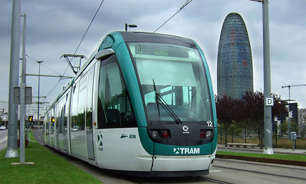 Tram in Barcelona 22@