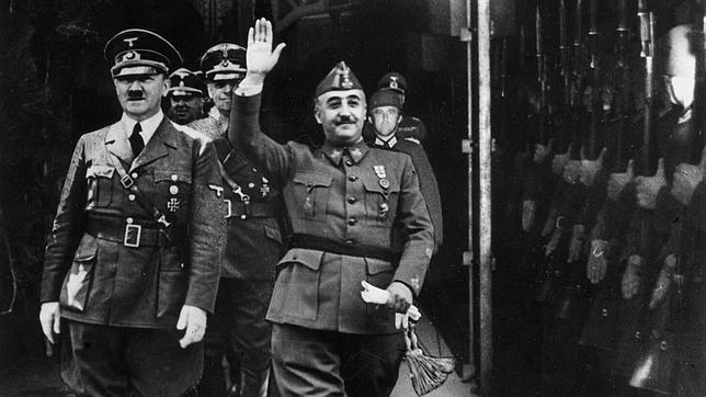 Hitler visit Franco in October 1940