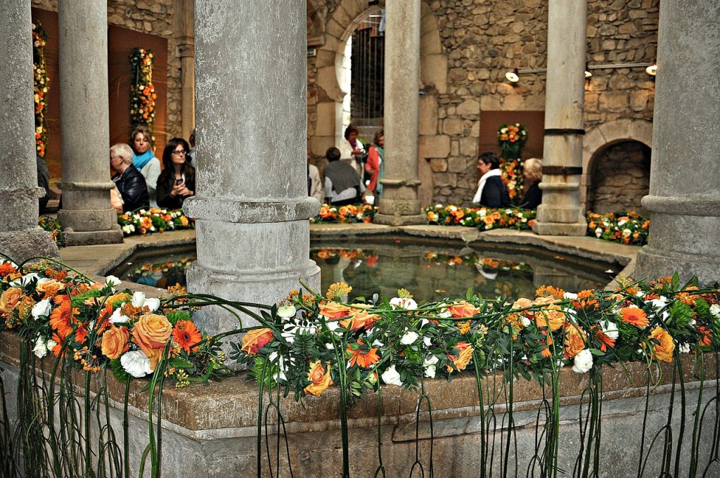 Girona patios during Temp de Flors