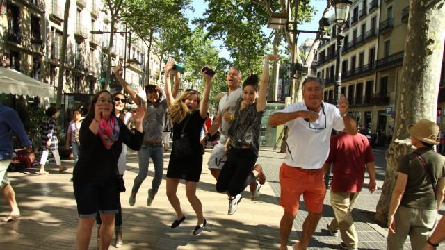Fam trip at Las Ramblas