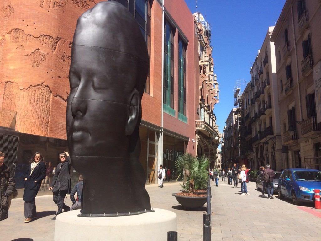 Carmela by Jaume Plensa
