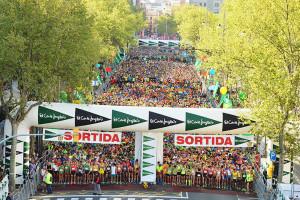 El Corte Inglés race at Barcelona