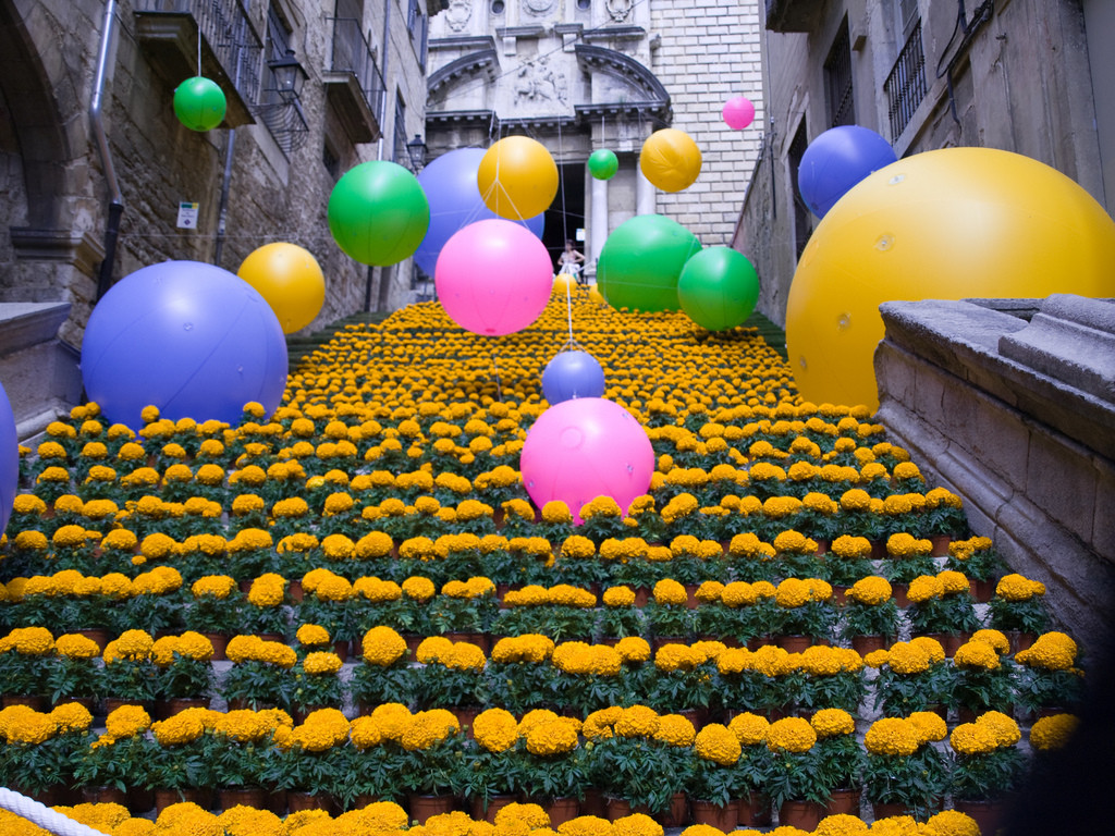 Girona Temps De Flors The Flower Festival
