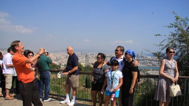 Views from Montjuïc
