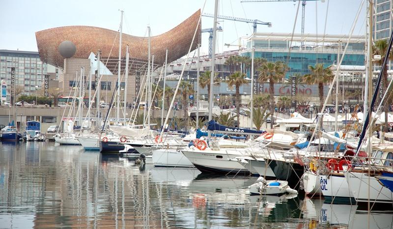 port olimpic sports in Barcelona