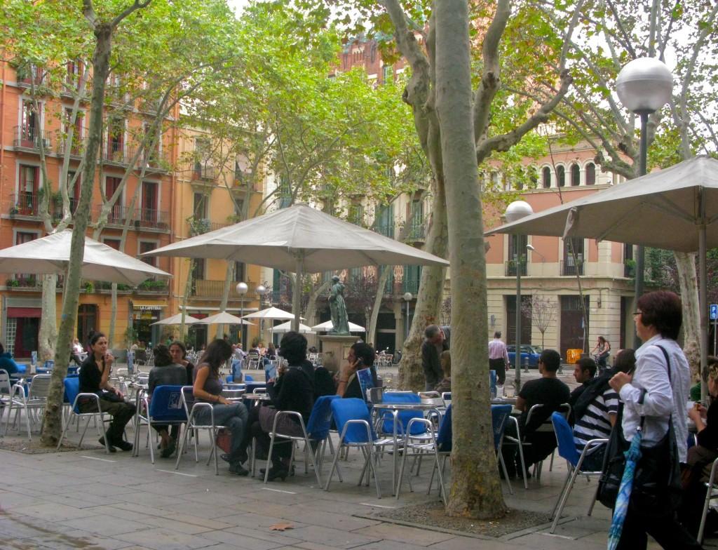 Terraces in Gràcia