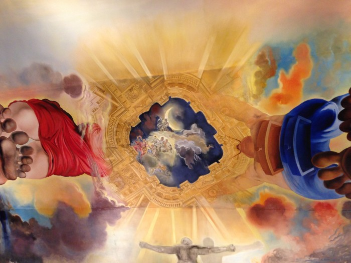 The Dali Museum - the Wind Palace Ceiling