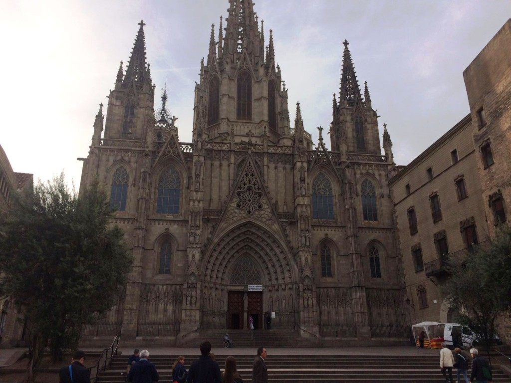 Cathedral in the Gothic Quarter