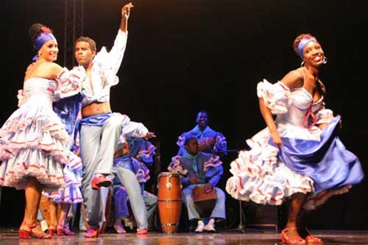 Rumba Cubana dancers