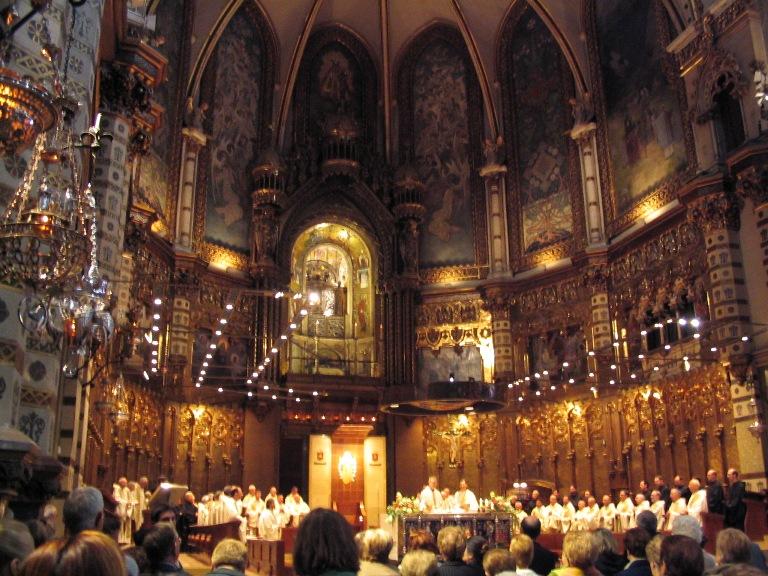 Voices of Montserrat during a concert