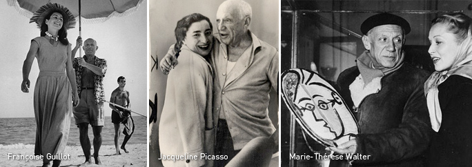 Picasso's wifes
