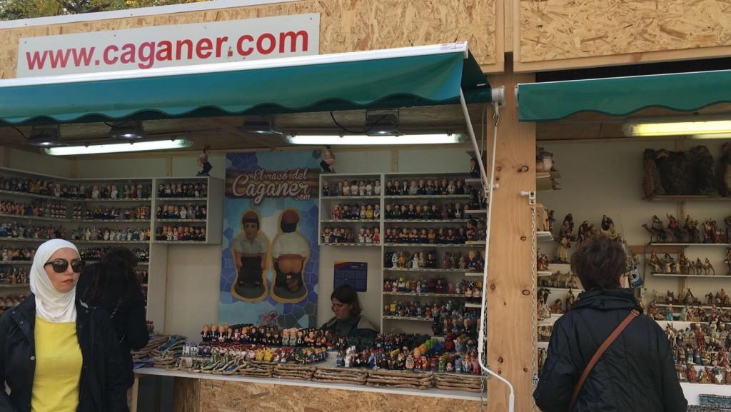 """""""Caganer"""" shops"""