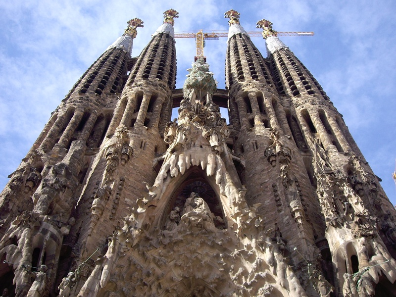 Sagrada Familia, The Birth façade