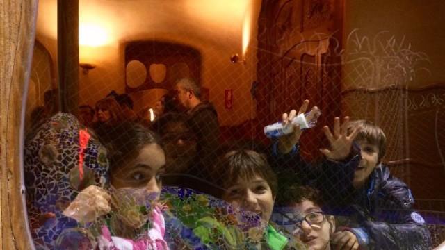 Children enjoying La Marató TV3