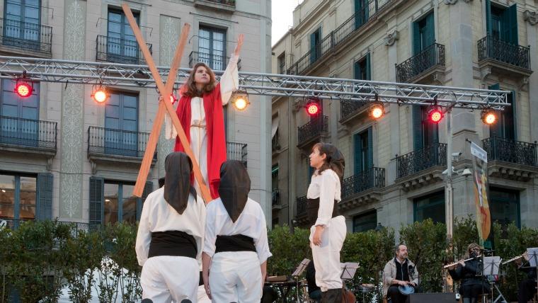 Santa Eulalia performance