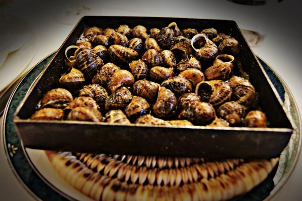 Snails, cargols a la llauna