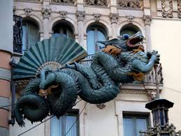 dragon on the rambla