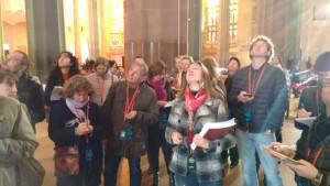 Carles Picazo, tour en la Sagrada Familia