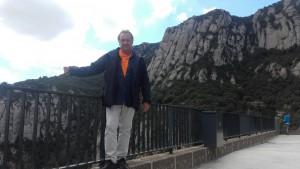 Carles Picazo a Montserrat
