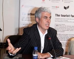 Jose Antonio Donaire en una de les seves intervencions